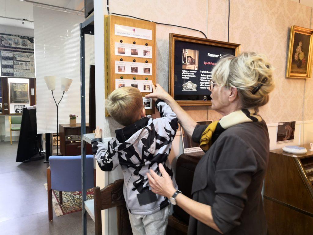 Sæsonens sidste gæst på museet var en af de yngste